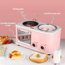 Đa Năng 3 Trong 1 Điện Ăn Sáng Trạm Máy Nướng Bánh Hình Thú Vỉ Nướng Điện  Bánh Mì Nướng Mini Bánh Mì Nướng Lò Nướng Bánh EU 220V|Other Kitchen  Specialty Tools