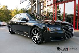 Audi A8 with 22in Lexani R-Fourteen Wheels exclusively from Butler ...