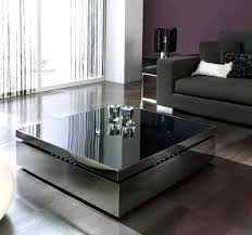 rotating coffee table image of contemporary coffee table with storage black berline clear round rotating glass