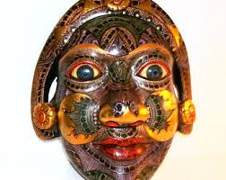 Decorative Face Masks Balinese masks Etsy 62