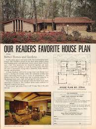 better homes and gardens house plans. Plain And Retrospace The Vintage Home 19 Better Homes And Gardens 1972 On And House Plans 6