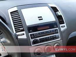 nissan altima 2005 interior. silver carbon fiber rdash trim kit 2005 nissan altima center console interior