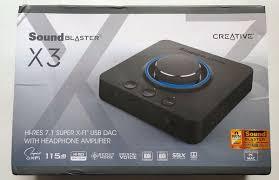 Тест и обзор: <b>Creative Sound</b> Blaster X3 – внешняя <b>звуковая</b> ...
