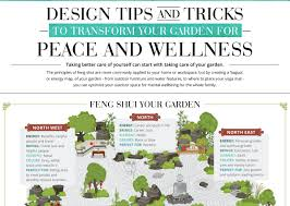 infographic feng shui. INFOGRAPHIC: How To Feng Shui Your Garden Infographic R
