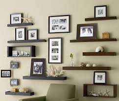 Small Picture Wall Decorating Ideas Home Wall Art Shelves