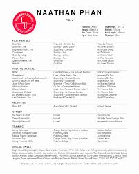 technical theatre resume templates technical theatre resume template example templates