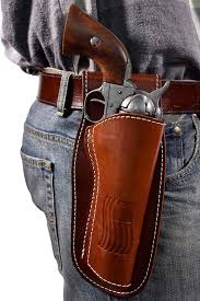 colorado leather revolver holster fits 4