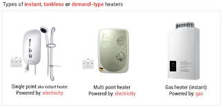 Hybrid Water Heater Vs Tankless Instant Vs Storage Water Heaters In Singapore Aos Bath Singapore