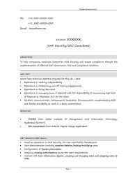 Sap Basis Administration Sample Resume 13 15 Sap Grc Security