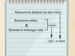 Irs Mileage Chart 3 Ways To Record Business Miles Wikihow