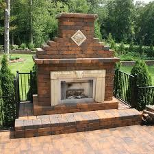 verona outdoor fireplace kit