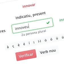 Catalan Verbs And Conjugations Verbs Cat