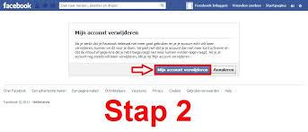 account verwijderen facebook