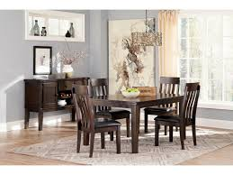 extendable dining room table by signature design by ashley. signature design by ashley haddigan rectangular dining room table w/ butterfly leaf extendable a