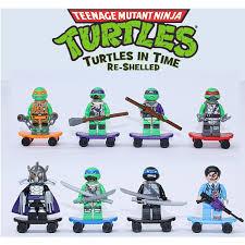 Lego Compatible <b>Decool</b> 8pcs/Set <b>Ninja</b> Turtle Minifigures | Shopee ...