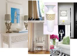 Greek key decor
