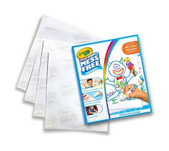 Color Wonder Mess Free Refill Paper Crayola