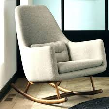 upholstered platform rocking chair antique identification upholstere