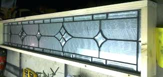 stained glass transom windows hand made window panel clear bevel stars w by leaded interior us transom stained glass windows