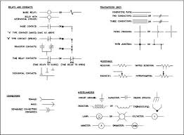 engineering symbology prints and drawings module 3 figure 7 common electrical component symbols