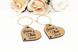 a great name tag which doubles up as a keepsake reminding them of your special day