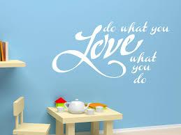 Wandtattoo Do What You Love Motiv Nr 3017 Sprüche Schlafzimmer Tocut