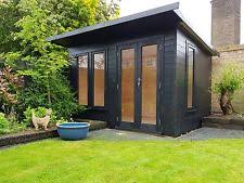 home office in the garden. Garden Room Summer House Home Office Double Glazed 11x7ft DEL\u0026 ERECTED In The