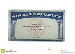Blank Paper Social Of Card Security Photo 43370650 Image Stock -
