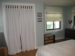 Curtains For Sliding Closet Doors