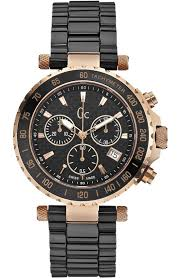 men s watch guess collection rose gold black ceramic chronograph men s watch guess collection rose gold black ceramic chronograph x58003g2s e oro gr guess collection watches