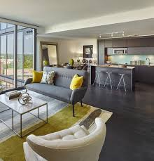 the spacious modern living rooms at 7770 norfolk conveniently located near bethesda metro