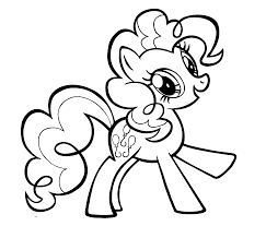 Small Picture Bold Inspiration Pie Coloring Page My Little Pony With Pinkie For
