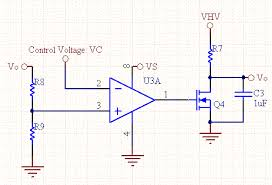 voltage controlled voltage source voltage controlled voltage reference schematic