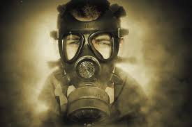 Image result for gas mask gif