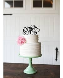Deals On Mickey Wedding Cake Topper Custom Wedding Cake Topper Mr