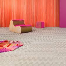 vinyl flooring tertiary roll textured bolon by missoni optical stone