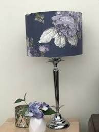 lampshade home decor table lamp floor lamp lighting drum lamp shade fl laura ashley purple pendant handmade ceiling violetta pale iris