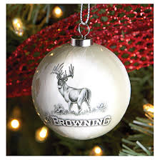 16 Browning Holiday Ornaments  A buck for every branch!