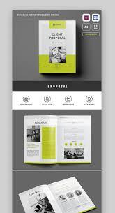 Best Brochure Design 2018 20 Best Proposal Templates Brochure Design Software