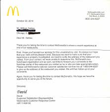 mcdonald s management needs help here s what happened when i that i deduce the mcd s usa president s assistant saw the letter and having determined that it was otherwise harmless deemed it a customer complaint