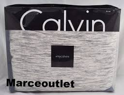 calvin klein home modern cotton strata king duvet cover marble