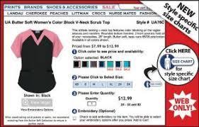 Uniform Advantage Size Chart Introducing New Size Charts By Uniform Advantage A Day In
