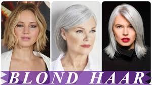 nieuwe korte kapsels dames blond 2018