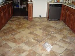 mesmerizing unique brown ceramic inexpensive flooring ideas and beautiful kitchen cabinet
