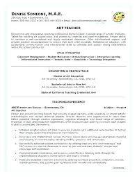 Resume Format For Music Teacher – Resume Tutorial