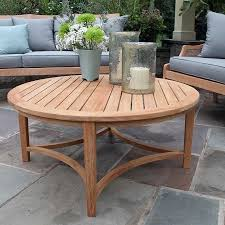 Teak Furniture Teak Outdoor Furniture Country Casual Teak Outdoor Round  Coffee Table Outdoor Coffee Table Plans