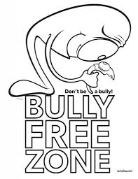 Small Picture Anti Bully Coloring Sheets Imbullyfree for Anti Bullying Coloring