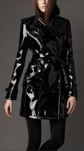 burberry patent leather trench yes please