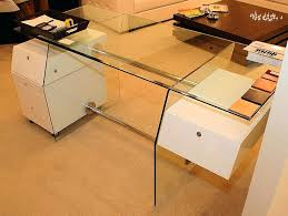 cool glass desk with drawers contemporary white file drawer cool glass desk with drawers contemporary white file drawer