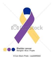 Bladder Cancer Ribbon Vector